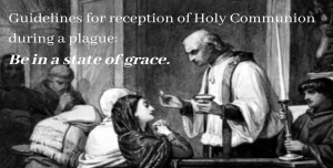 Coronavirus and Holy Communion